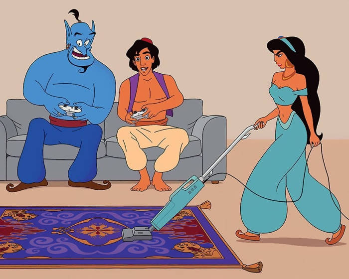 Aladdin (Alt Disney/Tom Ward)