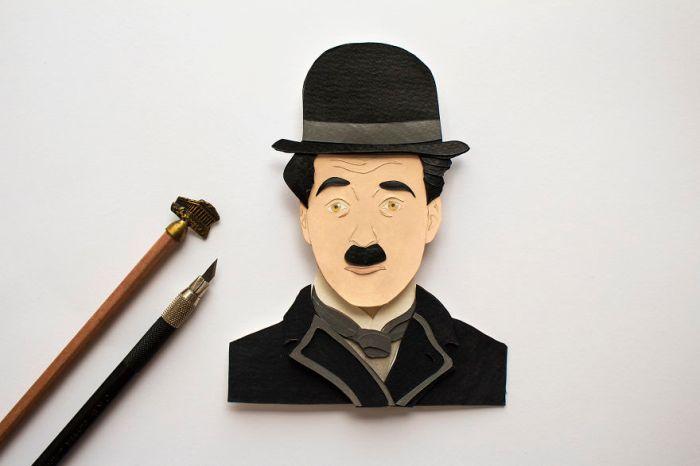 Charlie Chaplin (Etsy)
