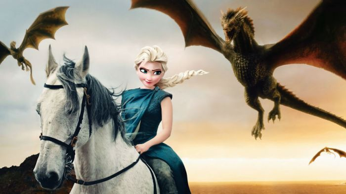 Elsa/Daenerys Targaryen (Gregory Masouras)