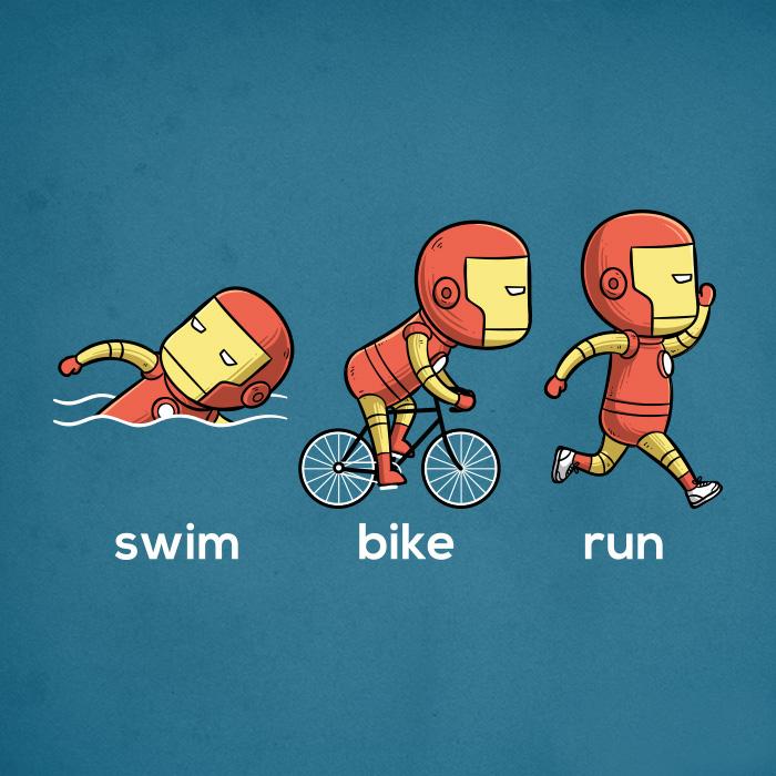 Iron Man-triathlon (Chow Hon Lam/Instagram)