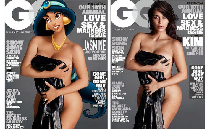 Jasmine as Kim Kardashian (AnimationInReality/Gregory Masouras)