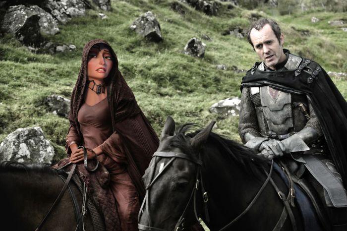 Mother Gothel/Melisandre (Gregory Masouras)