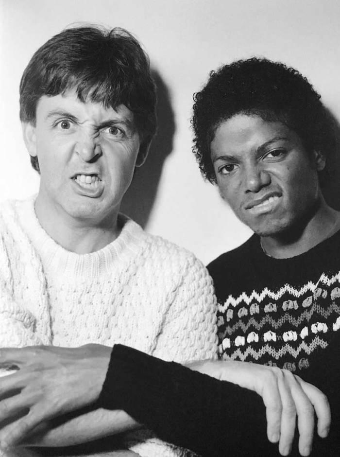 Paul McCartney e Michael Jackson - 1980 (losangelesdream.com)