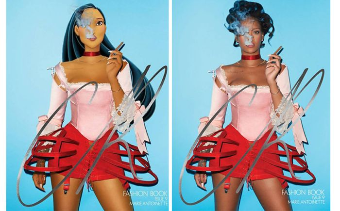 Pocahontas as Rihanna (AnimationInReality/Gregory Masouras)