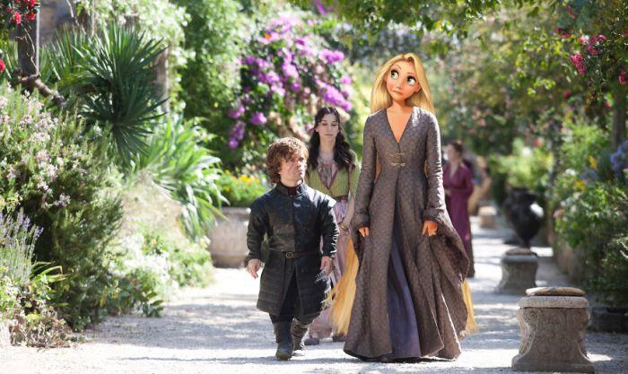 Rapunzel/Sansa Stark (Gregory Masouras)