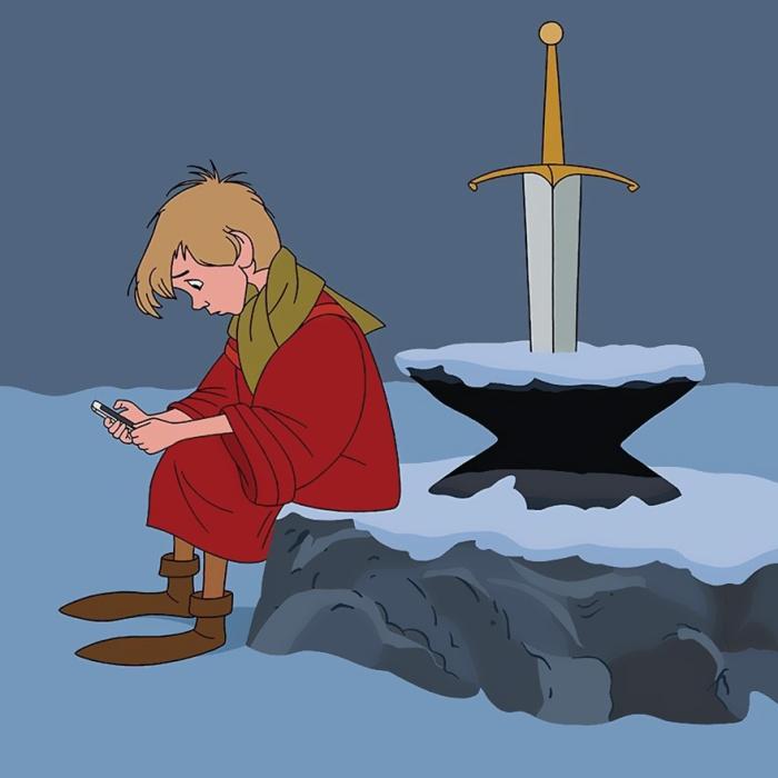 La spada nella roccia (Alt Disney/Tom Ward)