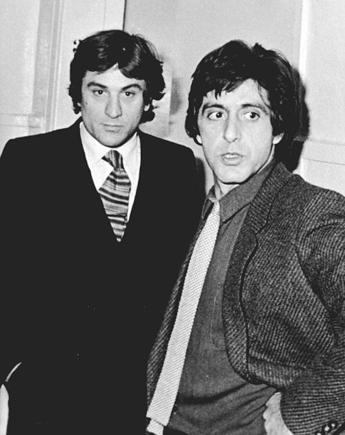 Robert DeNiro e Al Pacino - 1980 (losangelesdream.com)