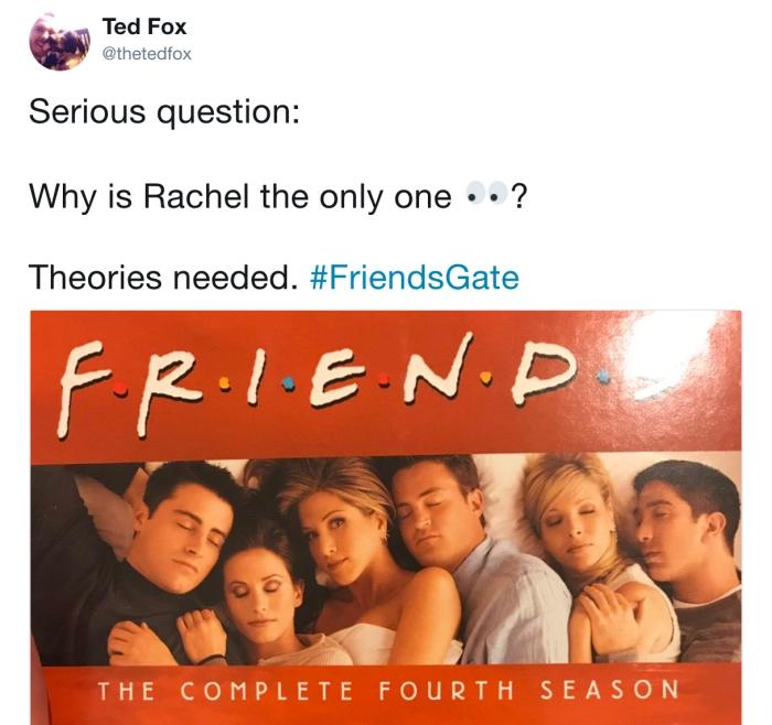 Il post di Ted Fox (thetedfox/Twitter)