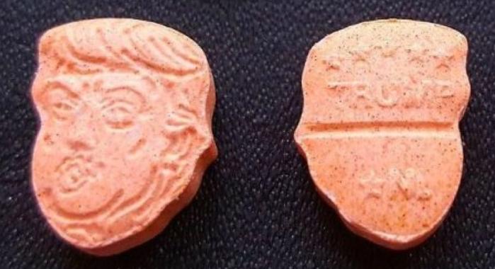 """Le pastiglie di ecstasy """"Donald Trump"""""""