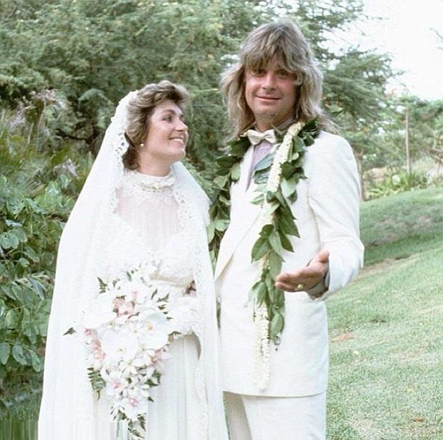 Sharon e Ozzy Osbourne - 1982 (losangelesdream.com)