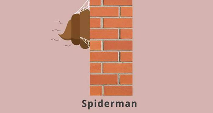 Spiderman (Superheroes Poop Lab/Toshib Bagde)
