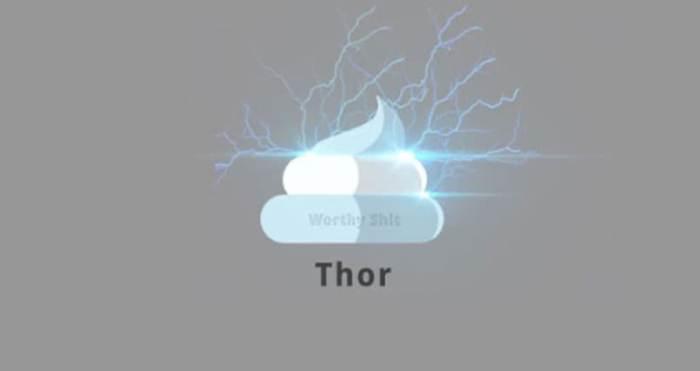 Thor (Superheroes Poop Lab/Toshib Bagde)