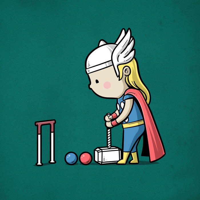 Thor-crockett (Chow Hon Lam/Instagram)
