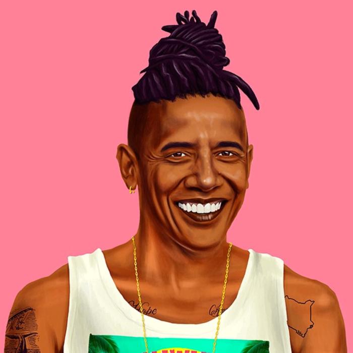 Barack Obama (Amit Shimoni/Hipstory)