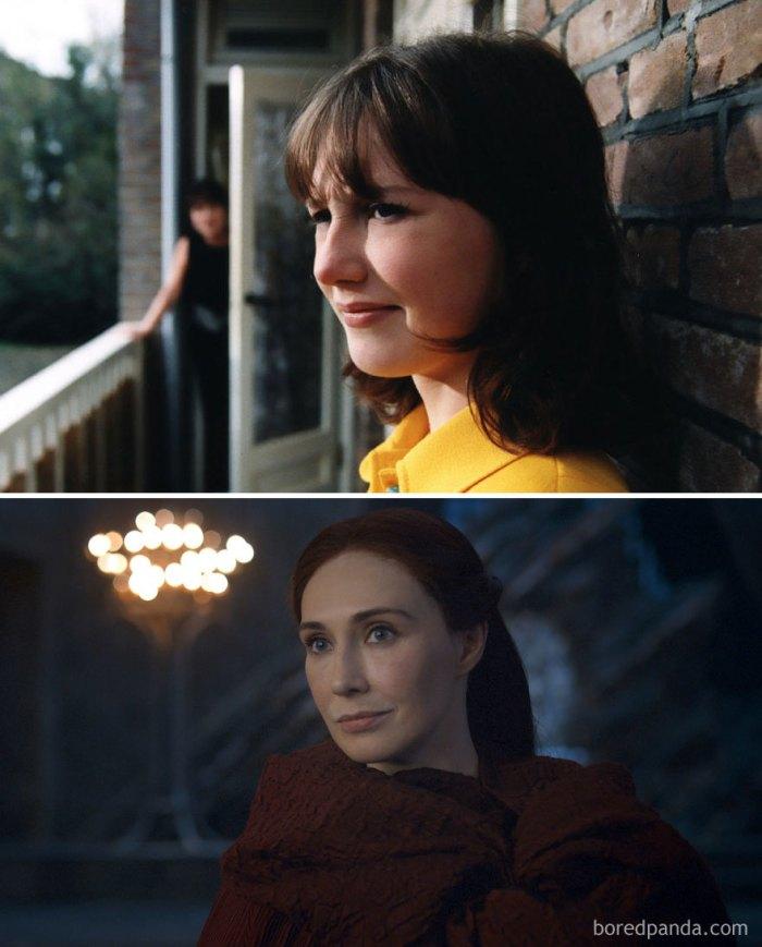 Carice Van Houten as Melisandre (boredpanda.com)
