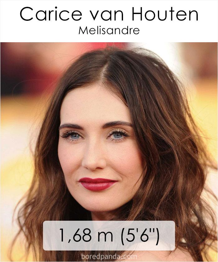 Carice van Houten/Melisandre (boredpanda.com)