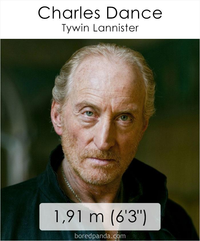 Charles Dance/Tywin Lannister (boredpanda.com)
