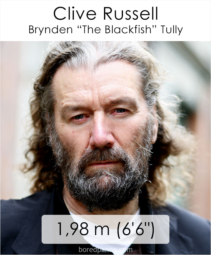 Clive Russell/Brynden The Blackfish Tully (boredpanda.com)