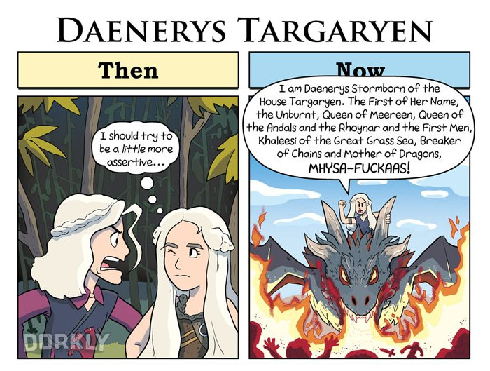 Daenerys Targaryen (George Rottkamp/Dorkly)