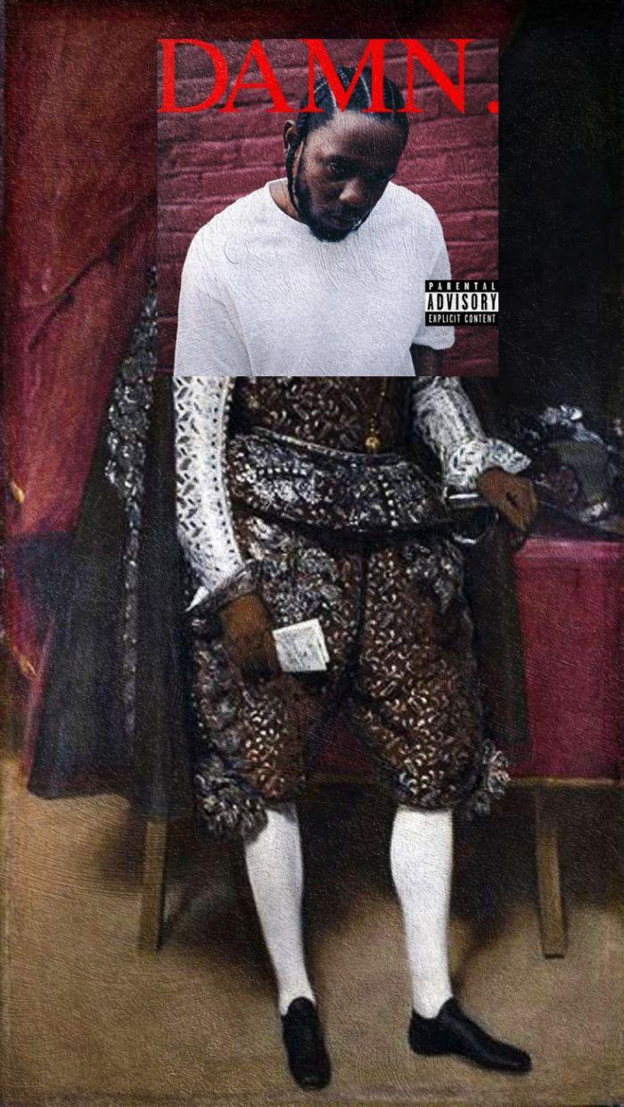 Damn. di Kendrick Lamar/Philip IV of Spain di Diego Velasquez (Eisen Bernardo)