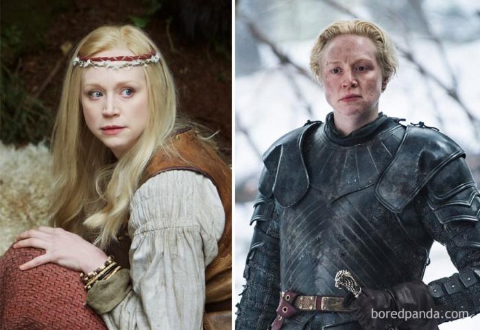 Gwendoline Christie as Brienne of Tarth (boredpanda.com)