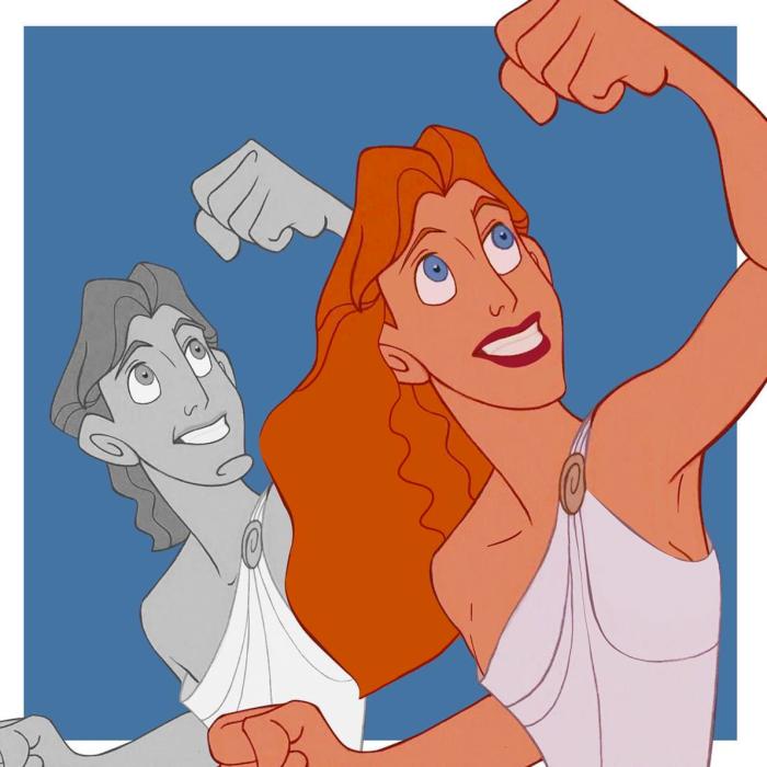 Hercules (trans.disney/Instagram)