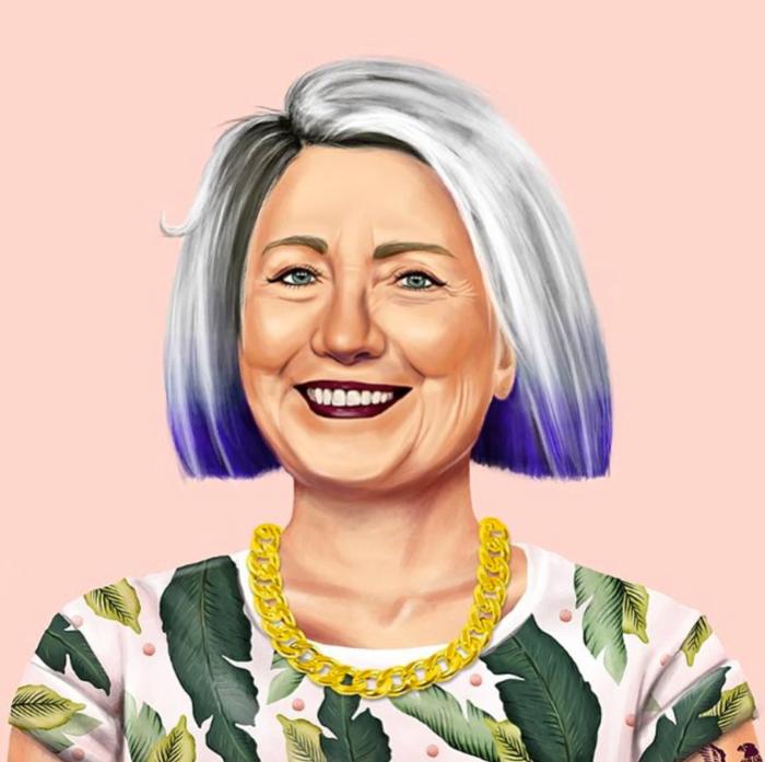 Hillary Clinton (Amit Shimoni/Hipstory)