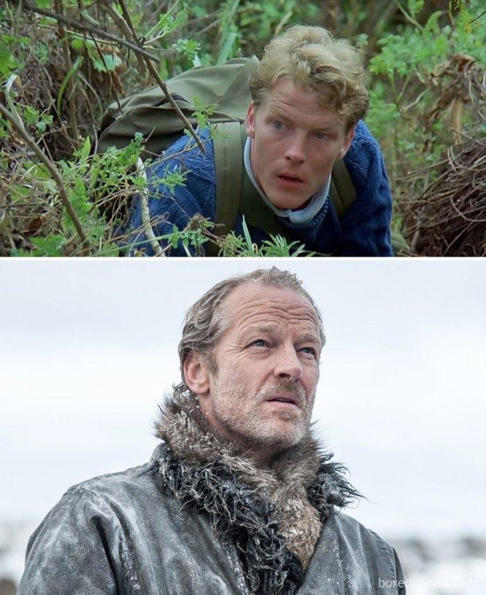 Iain Glenn as Jorah Mormont (boredpanda.com)