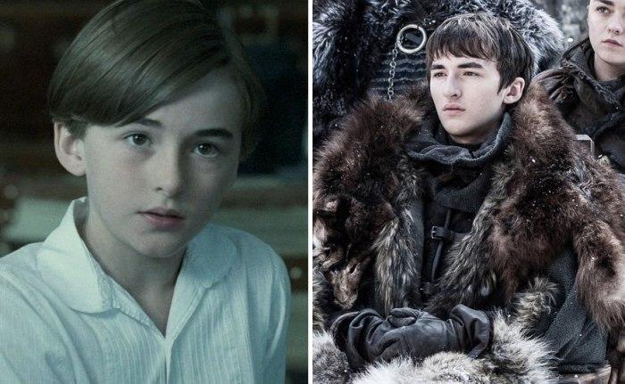 Isaac Hempstead Wright as Bran Stark (boredpanda.com)