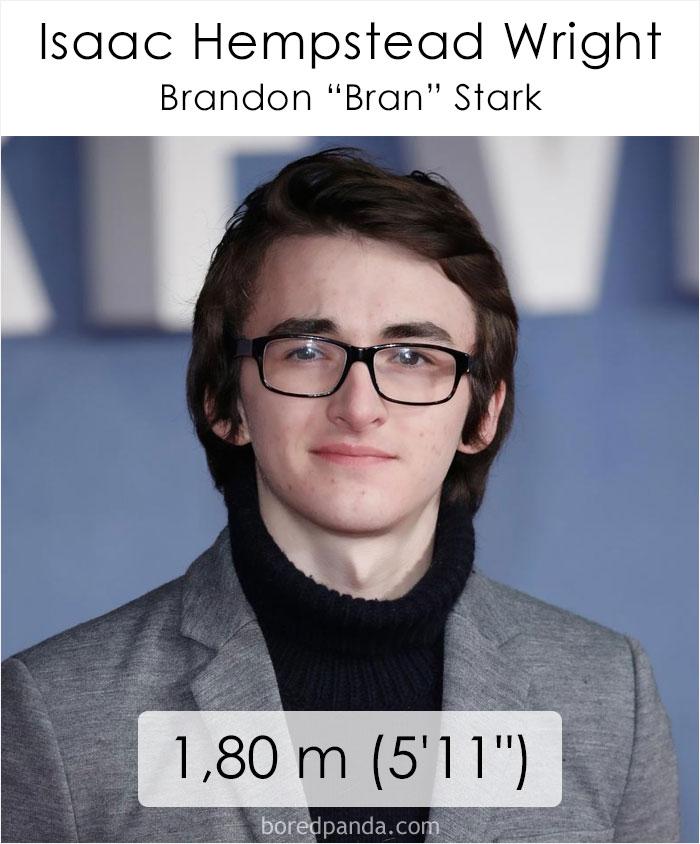 Isaac Hempstead Wright/Brandon Bran Stark (boredpanda.com)