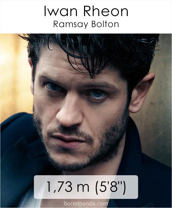 Iwan Rheon/Ramsay Bolton (boredpanda.com)