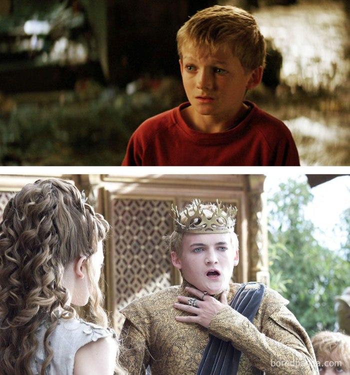 Jack Gleeson as Joffrey Baratheon (boredpanda.com)