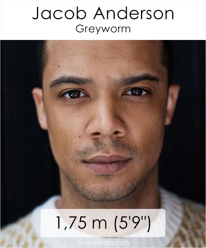 Jacob Anderson/Greyworm (boredpanda.com)