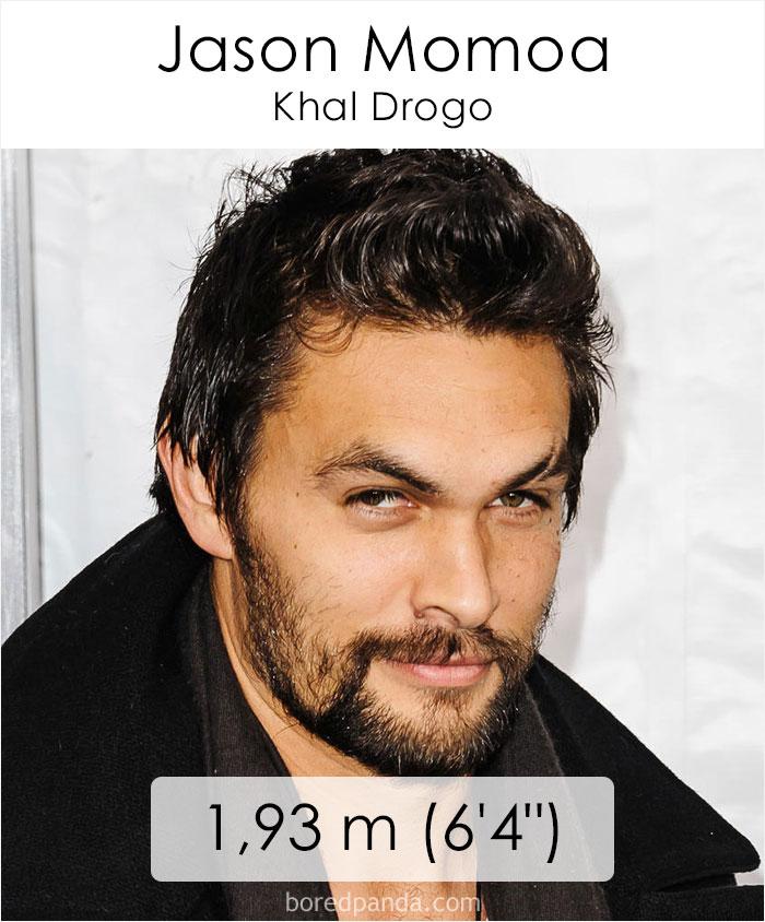Jason Momoa/Khal Drogo (boredpanda.com)