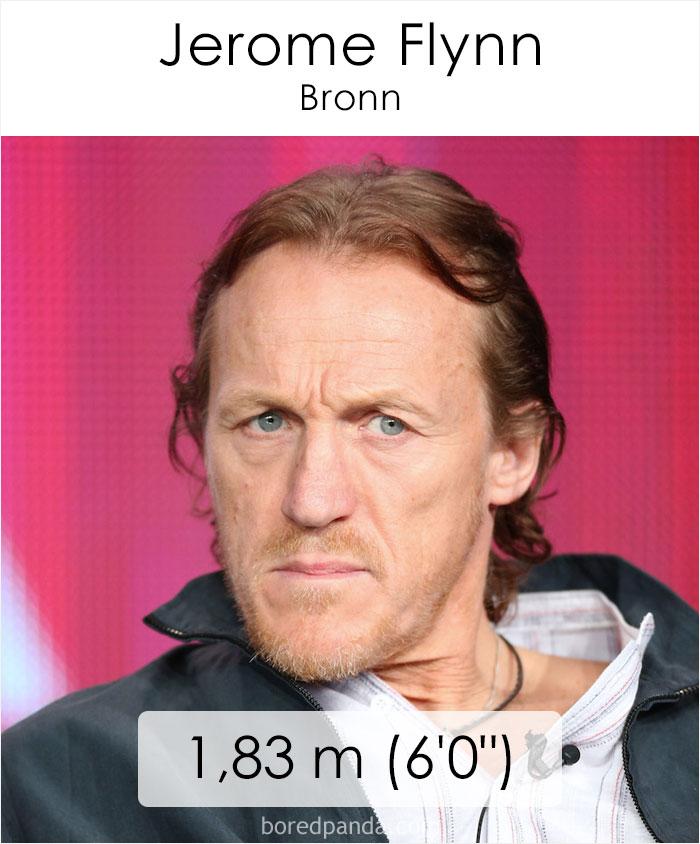 Jerome Flynn/Bronn (boredpanda.com)