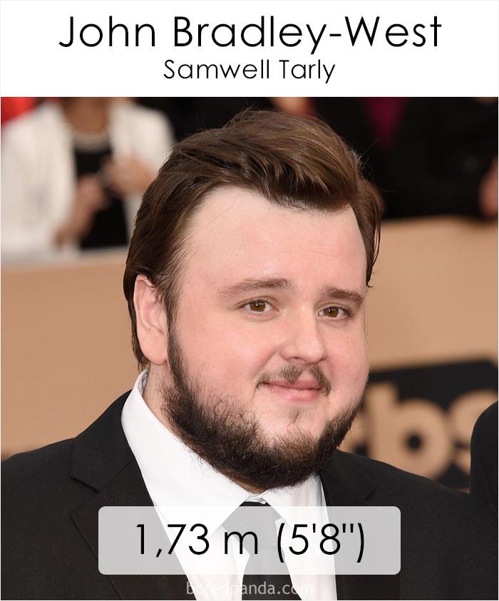 John Bradley-West/Samwell Tarly (boredpanda.com)