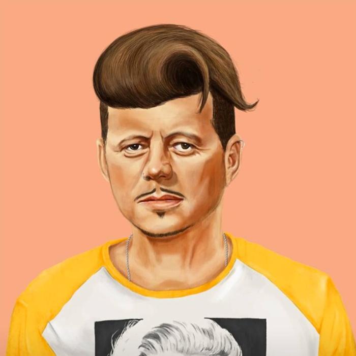 John F. Kennedy (Amit Shimoni/Hipstory)