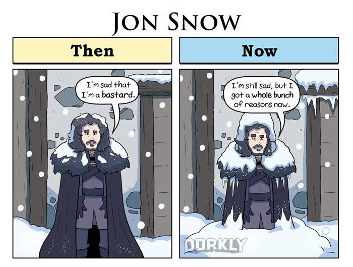 Jon Snow (George Rottkamp/Dorkly)