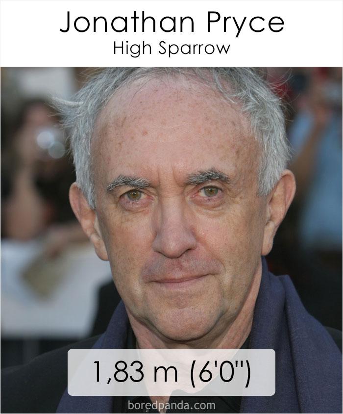 Jonathan Pryce/High Sparrow (boredpanda.com)