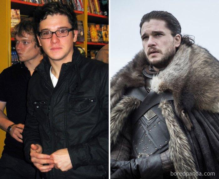 Kit Harington as Jon Snow (boredpanda.com)