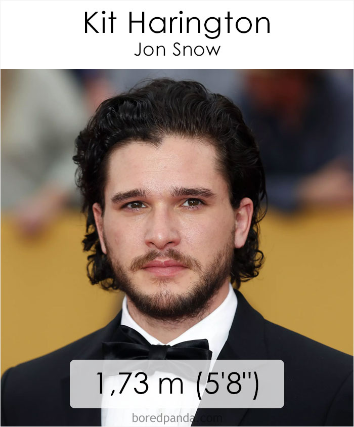 Kit Harington/Jon Snow (boredpanda.com)