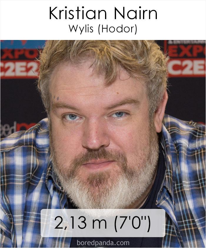 Kristian Nairn/Wylis Hodor (boredpanda.com)