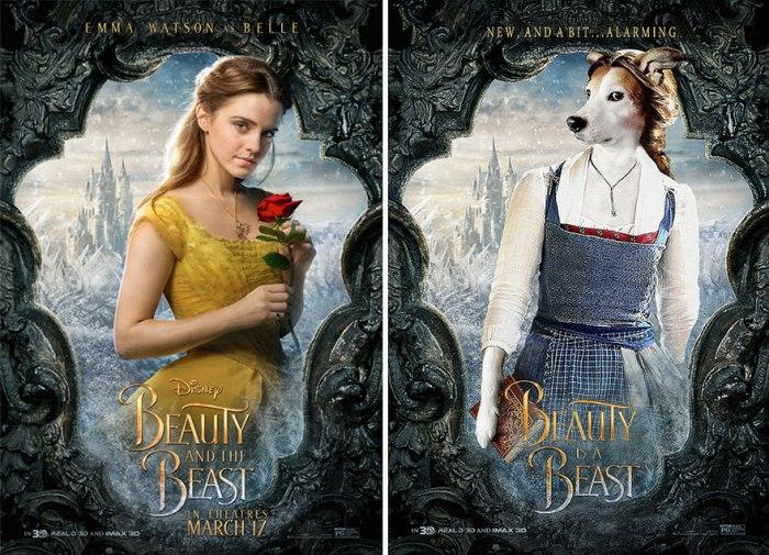 La Bella e la Bestia (IamIrene/Imgur)