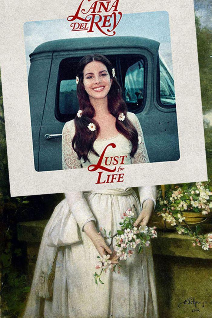 Lust for Life di Lana Del Rey/Portrait of Grand Duchess Elizabeth Feodorovna di Karl Rudolf Sohn (Eisen Bernardo)