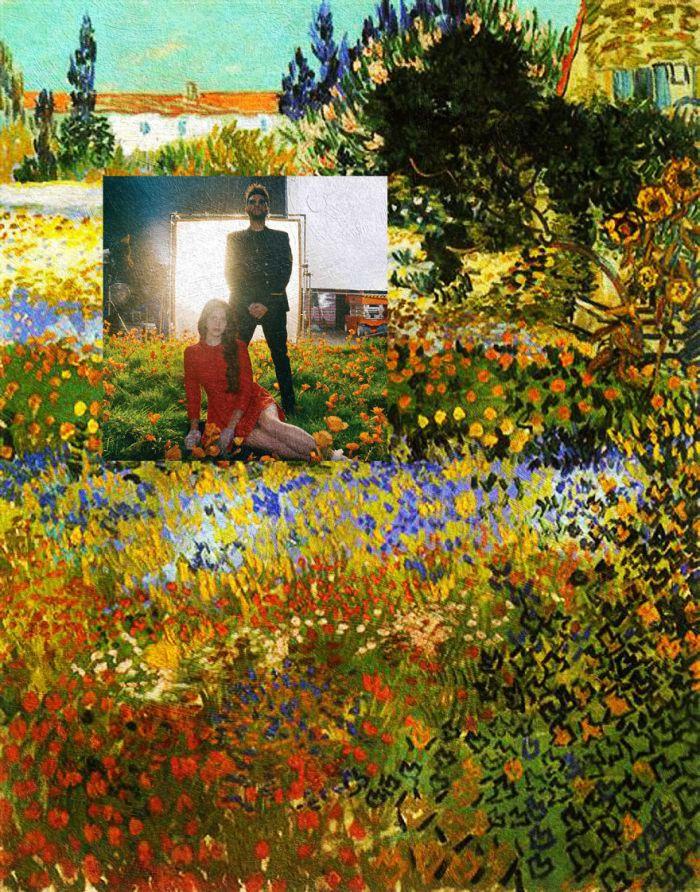 Lust for Life di Lana Del Rey feat. The Weeknd/Flowering Garden di Vincent Van Gogh (Eisen Bernardo)