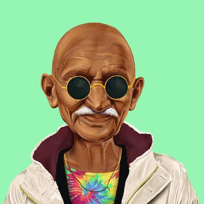 Mahatma Gandhi (Amit Shimoni/Hipstory)