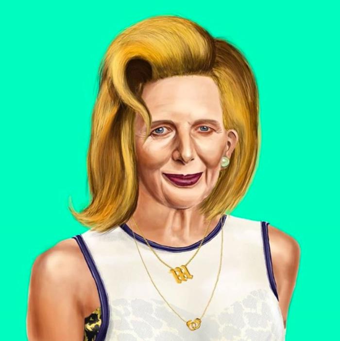 Margaret Thatcher (Amit Shimoni/Hipstory)