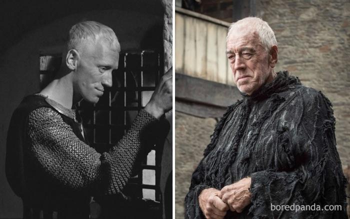 Max Von Sydow as Three-Eyed Raven (boredpanda.com)