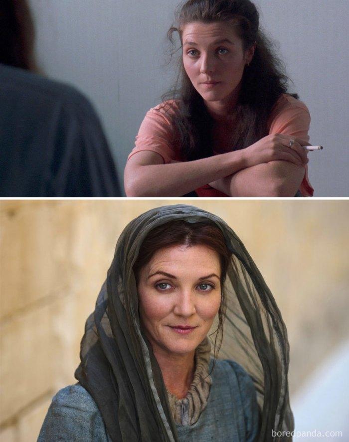 Michelle Fairley as Catelyn Stark (boredpanda.com)