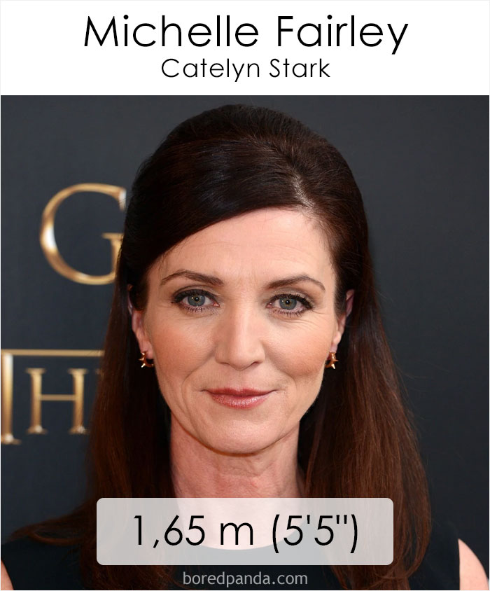Michelle Fairley/Catelyn Stark (boredpanda.com)